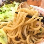 麺処 湊生 - キャベふじ麺リフト