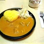 カレーハウス芳柳 - ポークカレー ¥600