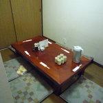 とんかつ燕楽 - 2階はお座敷になっています。(2010/10再訪)