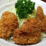 とんかつ燕楽 - ヒレ定食(2000円)(2010/10再訪)