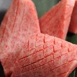 和茶炙 - 料理写真:和茶炙り自慢の特選ハネ下 お口の中でとろけます!