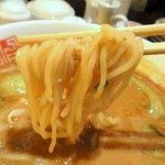四川辣麺 - 持ち上げてみました