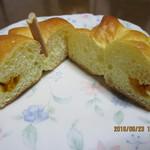 パリクロアッサン - 料理写真:「パンプキン坊や 140円」