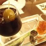 56461353 - 梅ダッチコーヒー。梅酒を投入すると、衝撃的なお味に・・・
