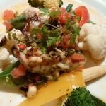 セゾン - 真鯛pageot綺麗な盛り付け