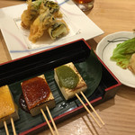 56464448 - 豆腐の味噌田楽