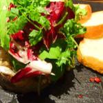 フレンチーナ - 日替わり鮮魚のなめろうとアボカドのグリル