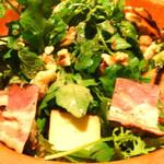 フレンチーナ - 土耕栽培クレソンとスモークチーズのサラダ