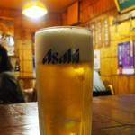立川串揚げ えん - 生ビール