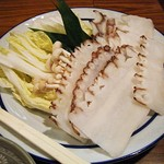 きた勝 - 料理写真:「水ダコ」のしゃぶしゃぶ。