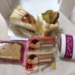 ガトーアイクレール - 料理写真:おさつモンブラン、さつまいもクランチ、苺パウンド、さつまいものたべんちゃい