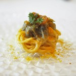 神楽坂 ヴェーリ - 駿河湾産生シラスとカラスミの冷製フェデリーニ