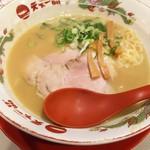 天下一品 - 1609 天下一品北新地 鶏の唐揚げ定食@1,010円 こってりスープがご飯と相性抜群です!