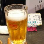 熊人酒場 - 1609 熊人酒場 オリオンビールで乾杯!