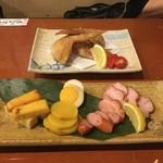 よしたく - 料理写真:おまかせ燻製五種盛