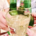 56471244 - 最初の乾杯!!男前に囲まれて飲むのは旨いよね~