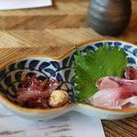 米沢鯉 六十里 - 鯉の洗い&刺身