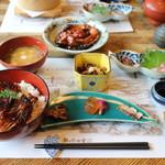 米沢鯉 六十里 - 鯉丼定食