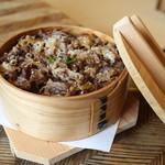 米沢鯉 六十里 - 米沢牛せいろわっぱ飯