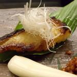 季節料理 中西 - ぎんむつ味噌漬 1000円