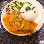 プロォーイ タイ料理 - Fセット クンパッポンカリー(エビのカレー炒め)