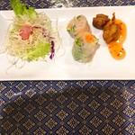 プロォーイ タイ料理 - Fセット サラダ