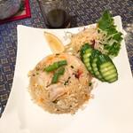 プロォーイ タイ料理 - Bセット カオパット(タイ焼き飯)