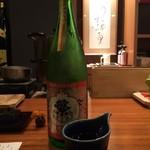 56472734 - お酒① 繁桝 特別純米 ひやおろし(福岡)
