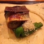 56472738 - 秋刀魚肝焼き