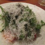 56473503 - たっぷり野菜のサラダ パルミジャーノチーズがけ
