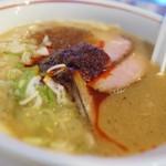 MEN-EIJI - 辛い魚介豚骨醤油
