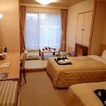 ホテルあや瀬 - 当日の部屋;二名泊には十二分.快適でした @2016/09/17