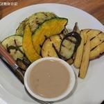 TAVERNA UOKIN - 野菜いろいろグリル野菜のバーニャカウダ780円
