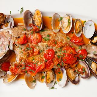 【完全予約制!】イタリア定番の魚料理~アクアパッツァ~