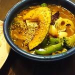 アジアンスープカリー べす - チキン野菜カリー