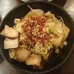 56477401 - 西安名物腰帯面(ビャンビャン麺)