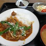 B & B レストラン ムジカ - 料理写真:2016.0923 日替わり定食のハヤシライス