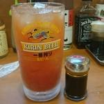 全国珍味・名物 難波酒場 - メガジョッキトマ酎