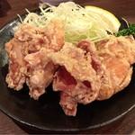 三田製麺所 - 唐揚げ(3個)セット♪