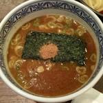 三田製麺所 - つけ麺(並)のつけ汁♪