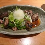 よだきんぼ - ズリ炭火焼おろしポン酢