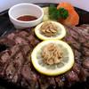 東京武蔵ハンバーグ - 料理写真:ワイルドステーキ300g1,360円。脂が乗っててうまかったよ