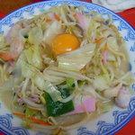 香蘭 - ちゃんぽん(生卵入り):750円