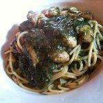 ルッカ - カキと青海苔のスパゲティ