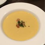 洋食レストラン ロッキー - コーンスープ