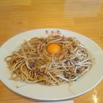 想夫恋 - 焼きそば+生卵