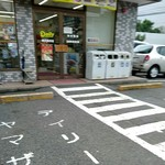 デイリーヤマザキ - 外観写真:入口(2016/09)