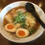 らーめん 菜菜 - らーめん大盛味玉のせ 2016年9月