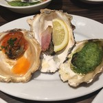 ACORN - 牡蠣オーブン盛り合わせ