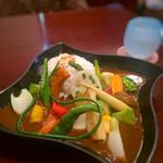 カフェメシプーチ - 野菜カレー